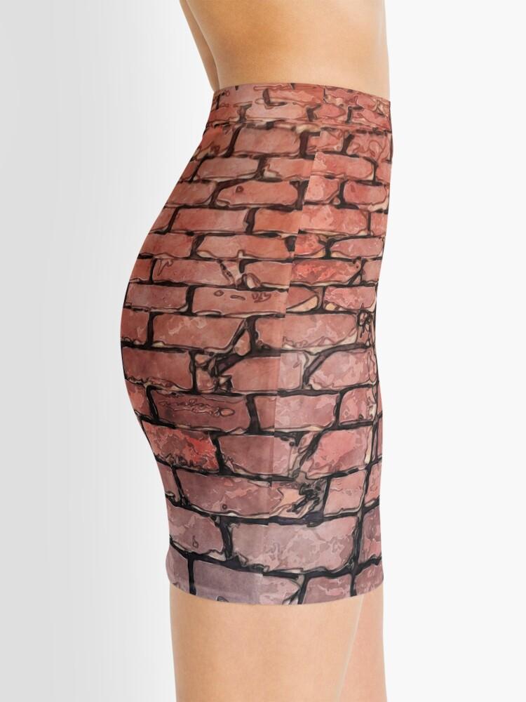 Alternate view of Vintage Brick Street Mini Skirt