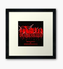 The Dark Side Eight Framed Print