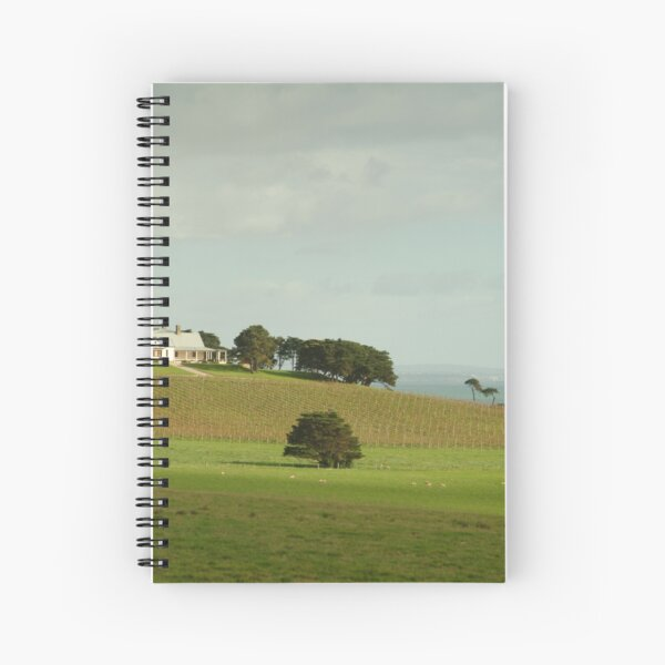 Joe Mortelliti Gallery - Spray Farm, Bellarine Peninsula, Victoria, Australia. Spiral Notebook