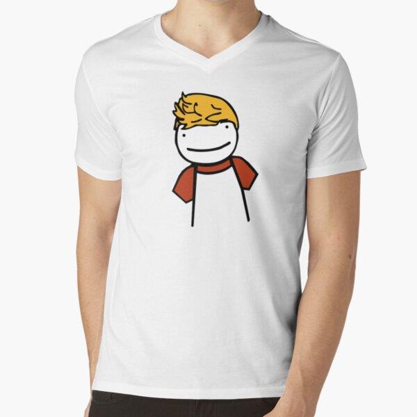 TommyOutit,Tommyinnit dream,gamer youtuber V-Neck T-Shirt