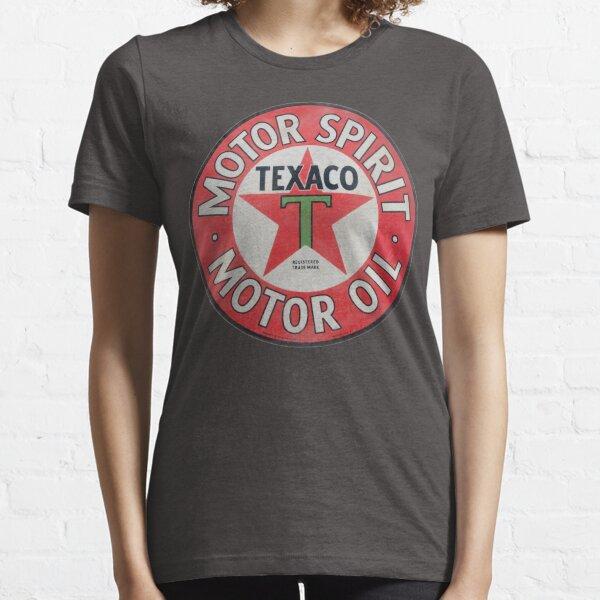 Vintage Texaco Motor Spirit Logo  Essential T-Shirt