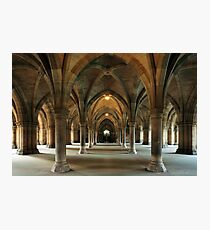 Cloisters Photographic Print
