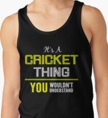 Cricket Men's Tank Top