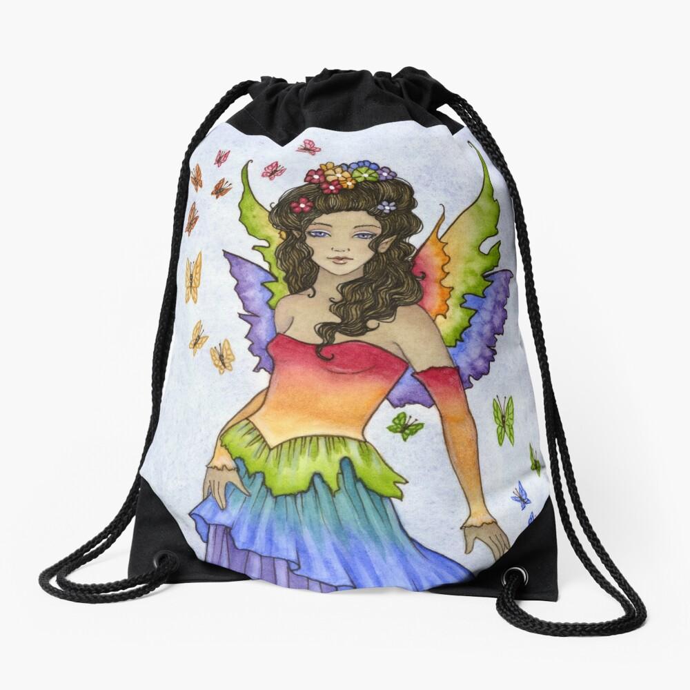 Flutter Drawstring Bag