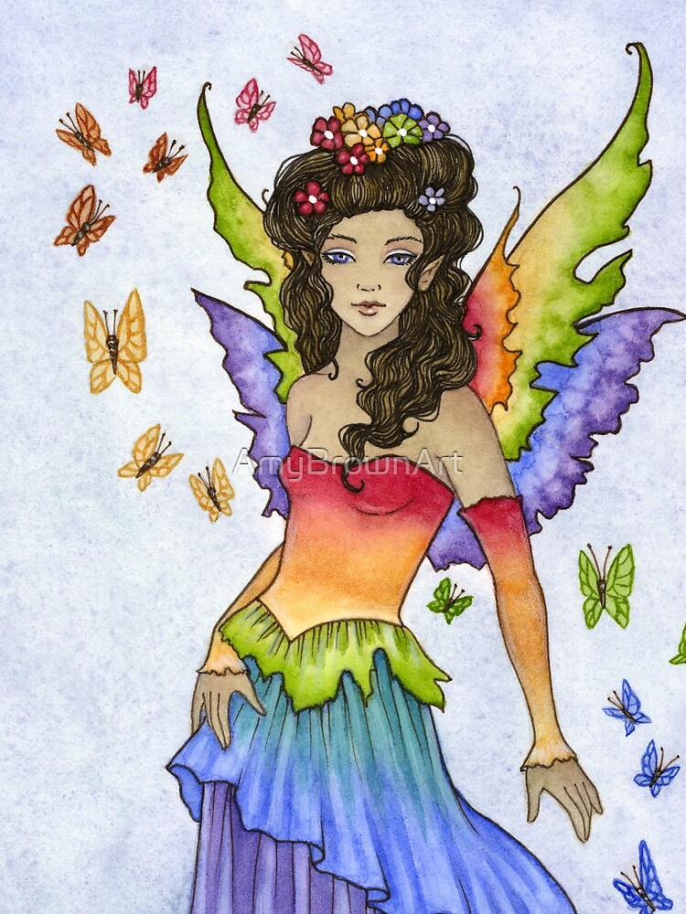 Flutter by AmyBrownArt