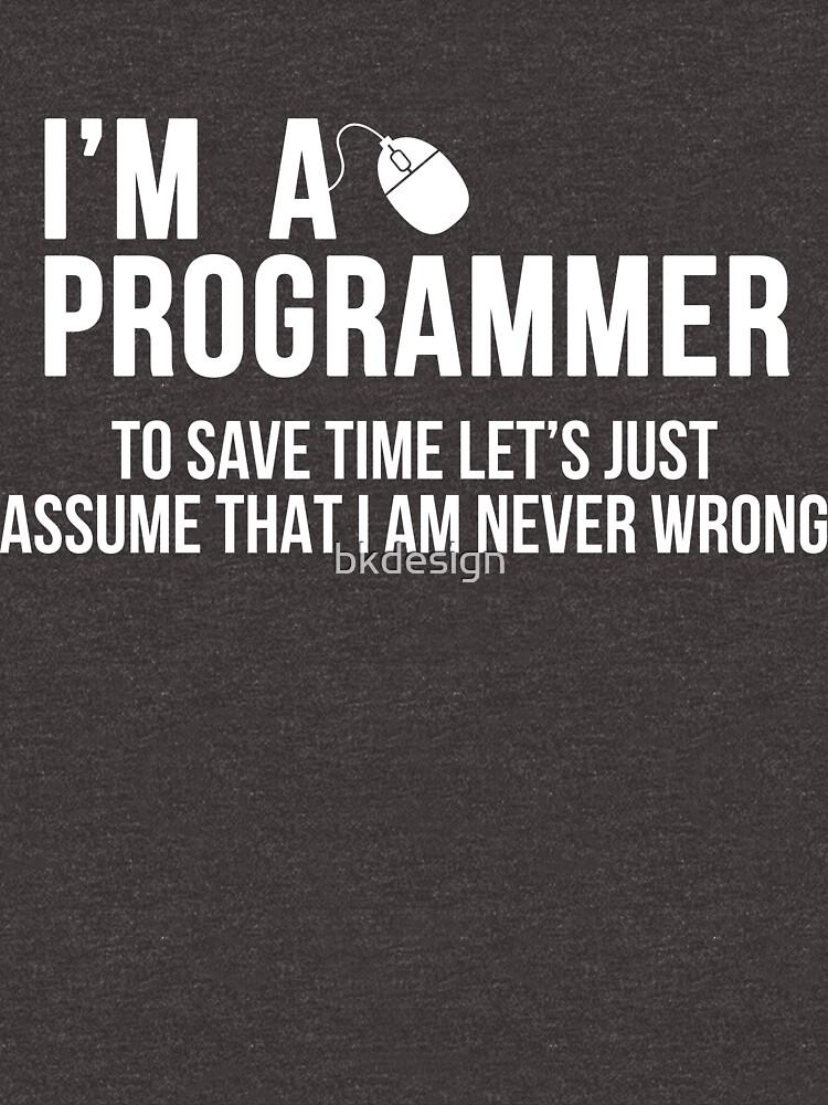 Programmierer von bkdesign