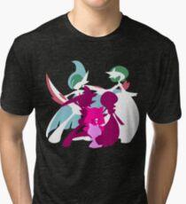 Ralts Kirlia Gardevoir Gallade Evolution Tri-blend T-Shirt