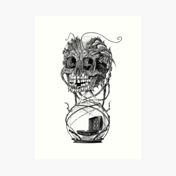Teeth trough time - No.10 Art Print