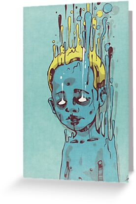 The Blue Boy with the Golden Hair by Lukas Brezak