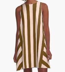 Capuccino  A-Line Dress