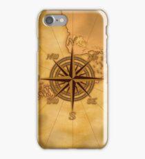 Vintage Compass Rose iPhone Case/Skin