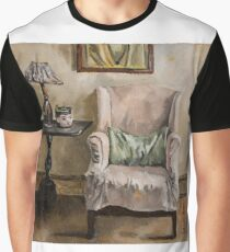 Reading Chair Graphic T-Shirt