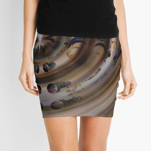 Nothing is what it seems Mini Skirt