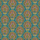 safa blue by Sharon Turner
