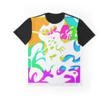 White Sludge Graphic T-Shirt