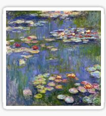 Claude Monet - Water Lilies 40 Sticker