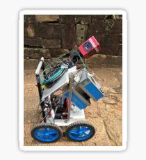 Cambodia - Siem Reap - LIDAR in the field Sticker
