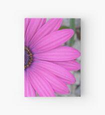 Violet Pink Osteospermum Flower Daisy Hardcover Journal