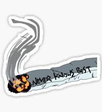 FLCL - Never Knows Best Cigarette 2 Sticker