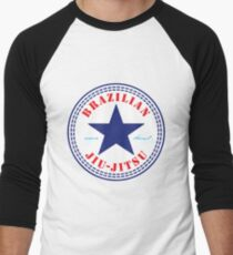 Brazilian Jiu Jitsu Men's Baseball ¾ T-Shirt