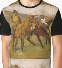 Edgar Degas - Before The Race Graphic T-Shirt