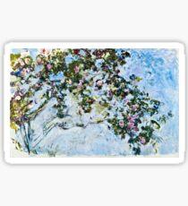 Claude Monet - Roses 1825  Sticker