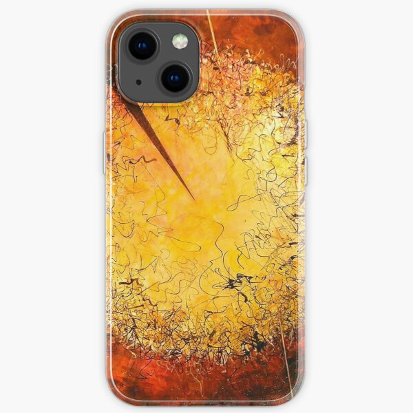 String Theory Zen by Phyllis Moser iPhone Soft Case
