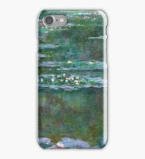 Claude Monet - Water Lilies 5 iPhone Case/Skin