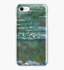 Claude Monet - Water Lilies 5 iPhone Case/Skin