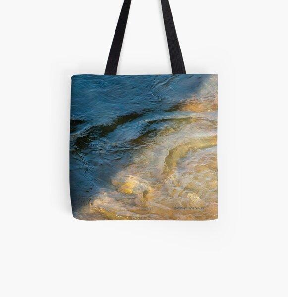 Sun and Shadow, Talvera River, Bolzano/Bozen, Italy All Over Print Tote Bag