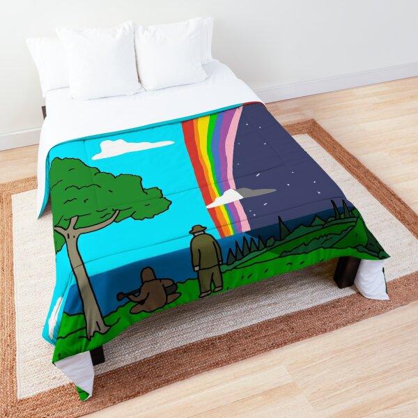 Big Lez Show Landscape Comforter