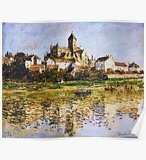 Claude Monet - Vetheuil The Church Poster