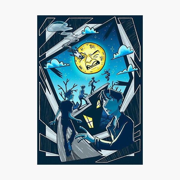 Moonshot - N.Flying Photographic Print
