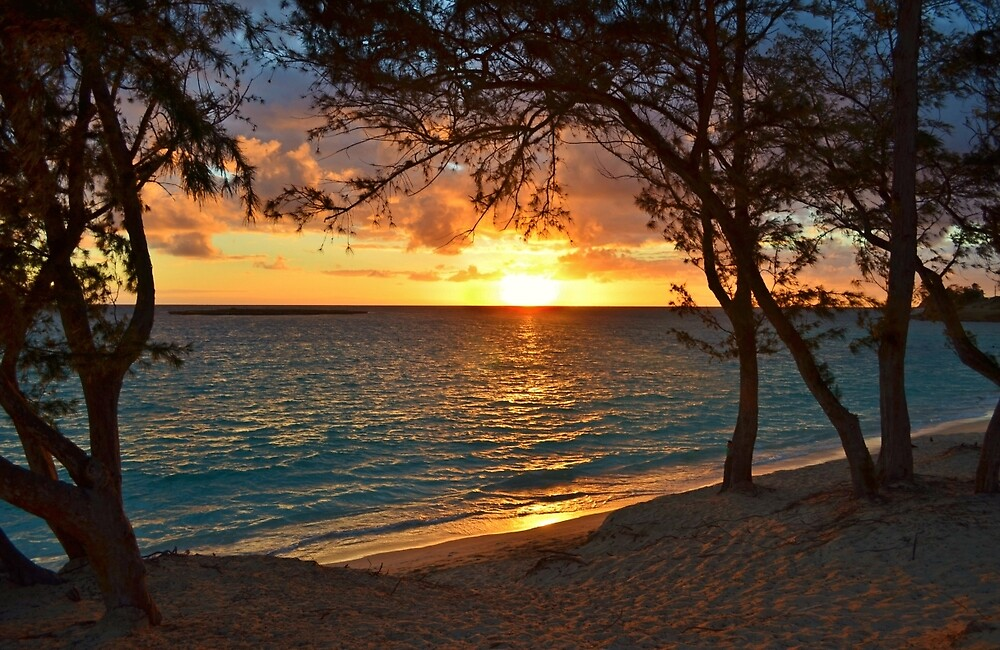 Sunrise at Kailua Beach by Ran Richards
