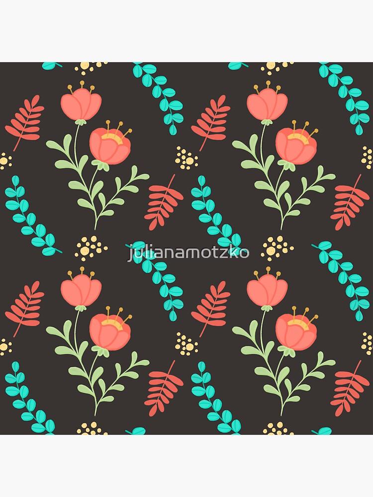 Cute Floral Pattern by julianamotzko