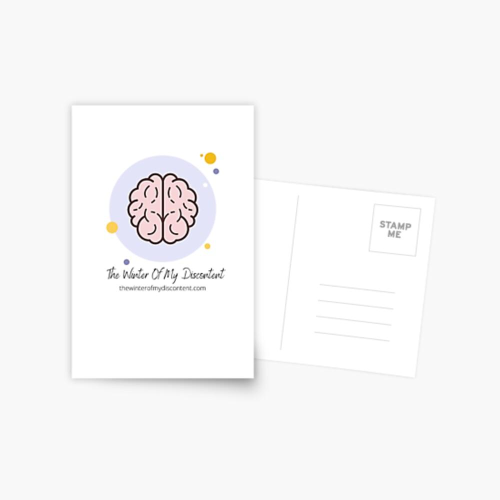 The Winter Of My Discontent Big Brain Postcard