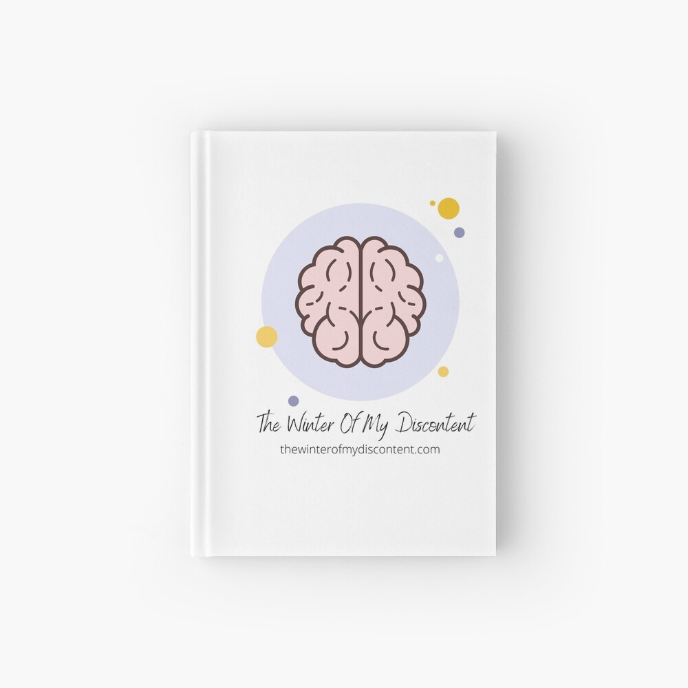 The Winter Of My Discontent Big Brain Hardcover Journal