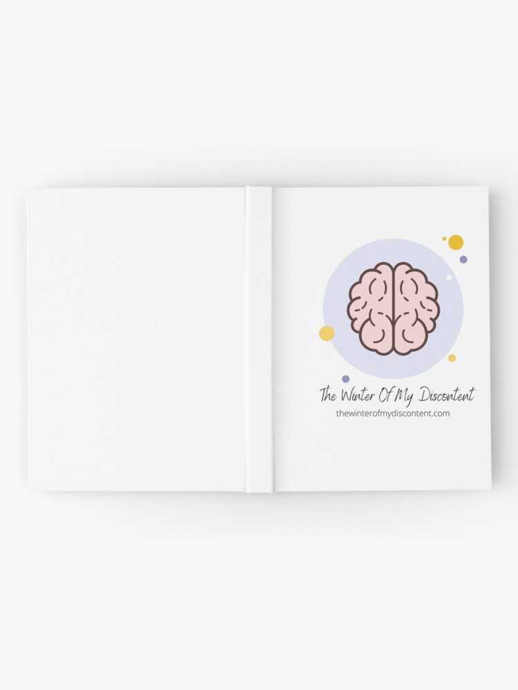 Alternate view of The Winter Of My Discontent Big Brain Hardcover Journal
