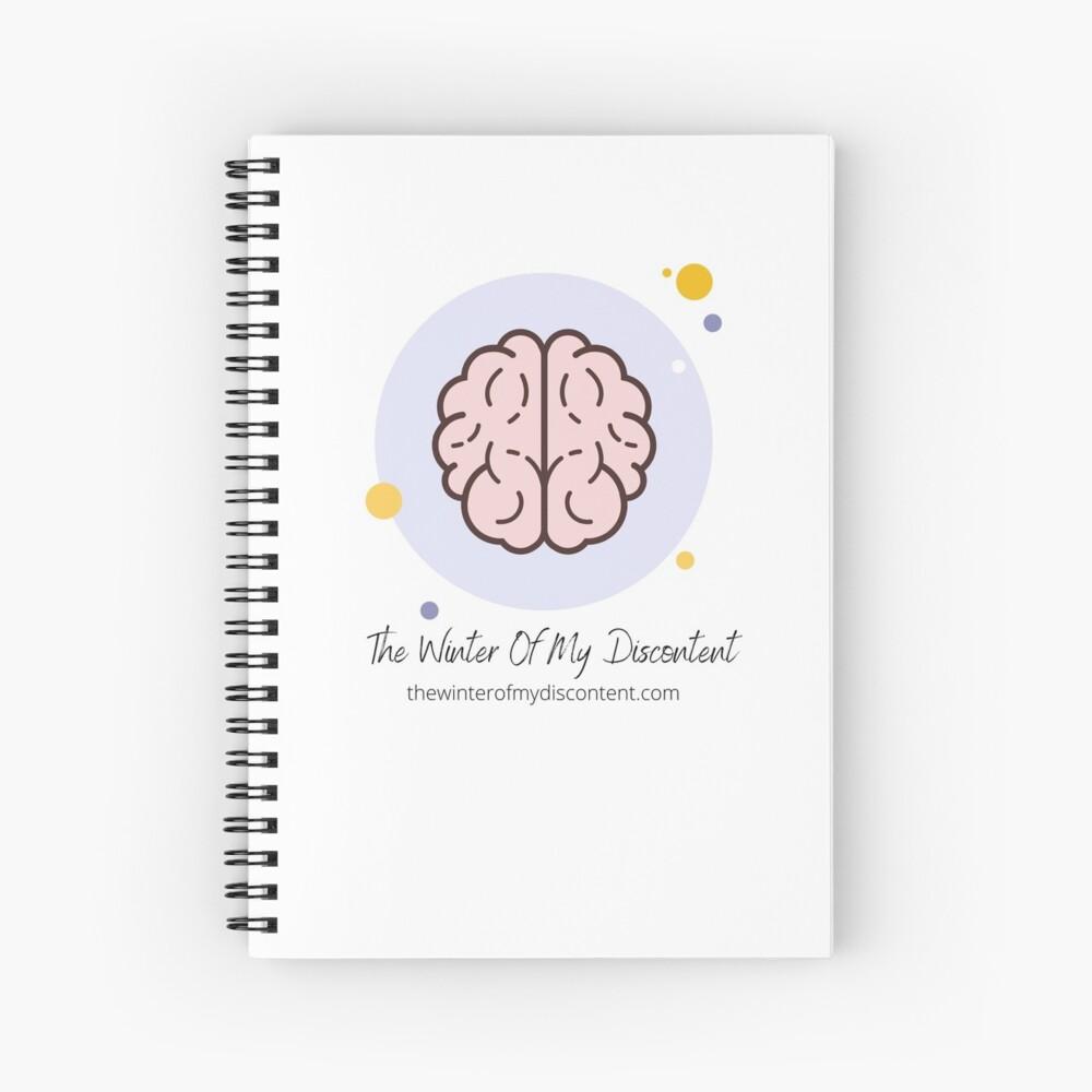 The Winter Of My Discontent Big Brain Spiral Notebook
