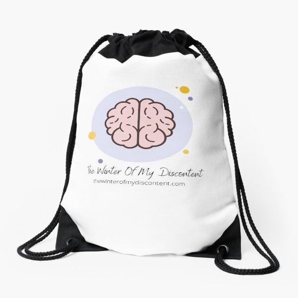 The Winter Of My Discontent Big Brain Drawstring Bag