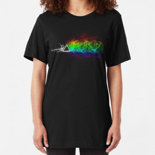 Pink Floyd - Die dunkle Seite des Mondes Slim Fit T-Shirt