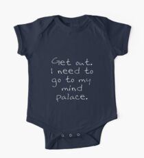 BBC Sherlock Get out. I need to go to my mind palace. One Piece - Short Sleeve