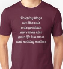 Roleplay Blogs T-Shirt