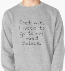 Sudadera cerrada BBC Sherlock Fuera. Necesito ir a mi mente, palacio.
