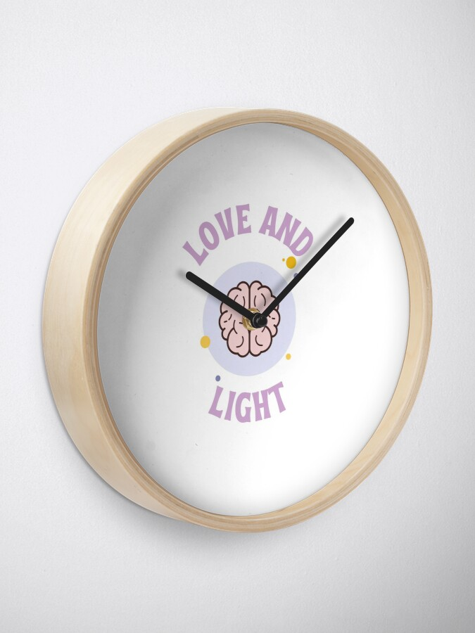 Alternate view of Love and Light Clock