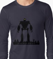 Iron Giant - Choose Who You are Long Sleeve T-Shirt