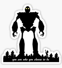 Iron Giant - Choose Who You are Sticker