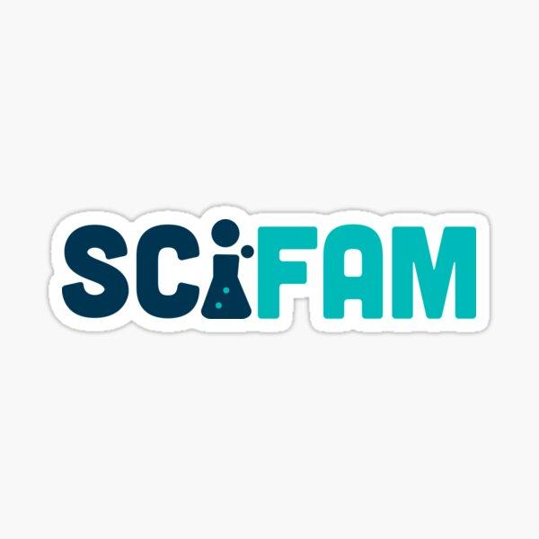 SciFam (horizontal) Sticker