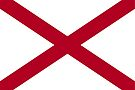 Alabama Flag by Rich Anderson