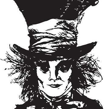 As Mad as a Hatter by BGRANDDESIGN